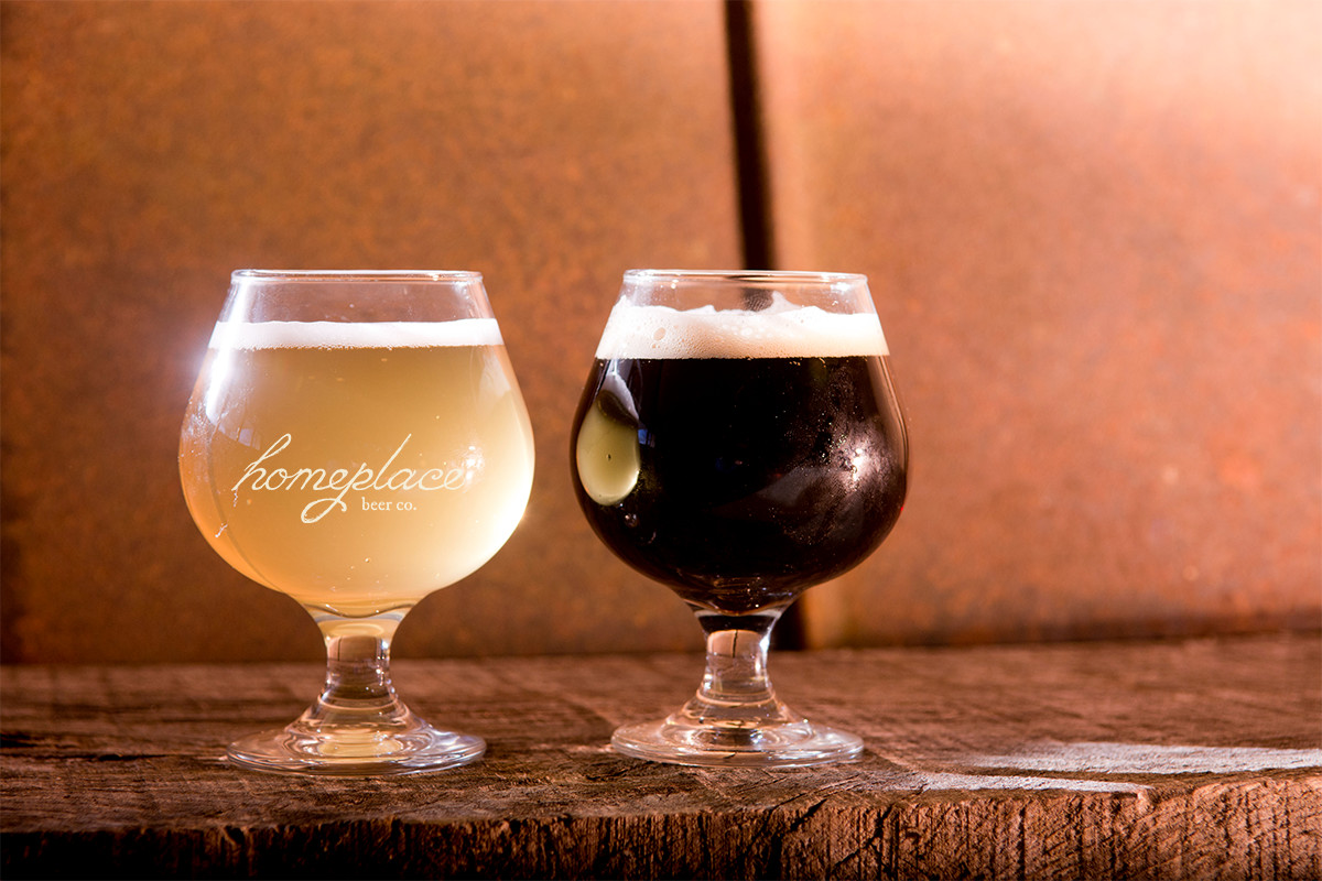 Homeplace Beer Company - Belgian Glasses