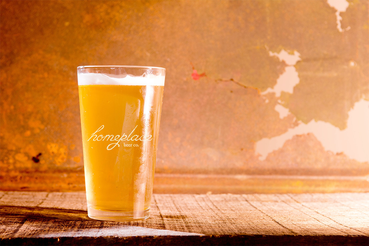 Homeplace Beer Company - Pint Glass
